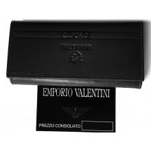 Valentini fekete patentos kulcstartó 563005