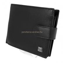 Choice nagy, patentos pénztárca-fekete 7797