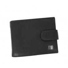 Choice kis, patentos pénztárca-fekete 7177