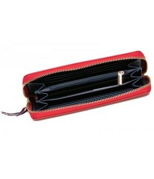 Heavy Tools 21 EMERSET piros címer nyomatos körzippes hosszú női pénztárca