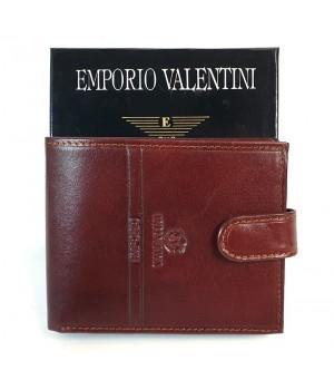 Valentini barna, lepatentolható válaszfalas bőr pénztárca 563561