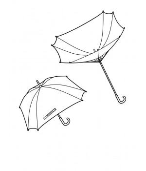 """Reisenthel """"tyúkláb"""" mintás botesernyő YM7028"""